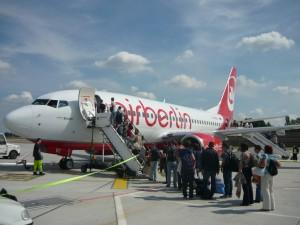 Акция  авиакомпании AirBerlin  на дешевые билеты в Европу