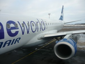 Фотография: самолет авиакомпании Finnair