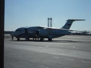 Фотография самолета АН-148 авиакомпания Россия www.air-agent.ru