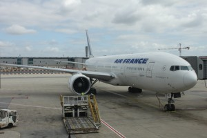 Самолет авиакомпании Air France www.air-agent.ru