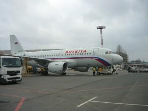 Фотография: Самолет авиакомпании Россия