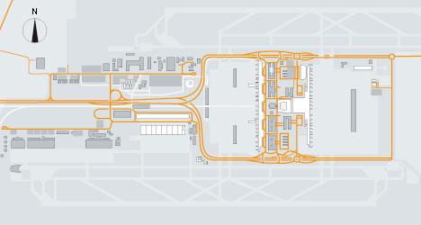 план аэропорта мюнхен