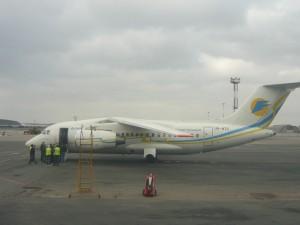 Самолет авиакомпании Аэросвит АН-148