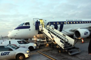 Самолет авиакомпании LOT Polish Airlines Embraer 170