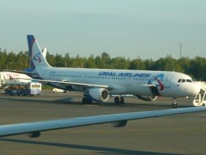 Фотография самолета авиакомпании Уральские авиалинии