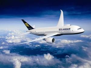 самолет авиакомпании Icelandair