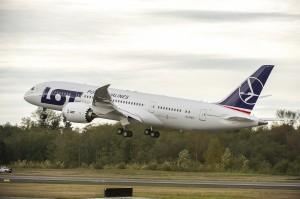 Фотография самолет  Boeing 787 Dreamliner авиакомпании ЛОТ