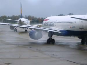 Фотография: Самолет авиакомпании Британские авиалинии. www.air-agent.ru