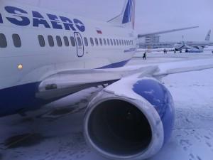 Фотография: Самолет авиакомпании ТРАНСАЭРО Боинг 737 www.air-agent.ru