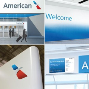american airlines новый логотип