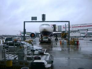 Фотография: Самолет авиакомпании British Airways аэропорт Лондон Хитроу www.air-agent.ru