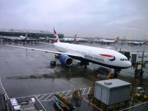 Фотография: Самолет авиакомпании Britiah Airway
