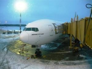 Самолет авиакомпании Эмирейтс Боинг 777 Санкт-Петербург аэропорт Пулково www.air-agent.ru