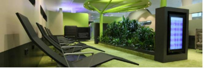 Фотография: Новая зона отдыха в терминале II Мюнхенского аэропорта.