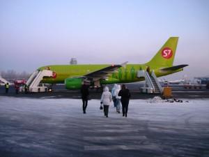 Фотография: Самолет airbus A319 авиакомпания S7 Airlines Санкт-Петербург Пулково www.air-agent.ru