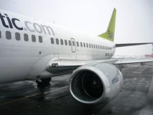 Фотография: Самолет авиакомпании Airbaltic Boeing 737-500 www.air-agent.ru