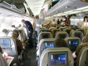 Фотография: Эконом класс самолет Emirates A340 рейс СПб-Дубай www.air-agent.ru