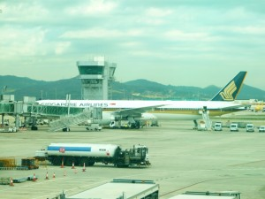 Фотография: Самолет авиакомпании Singapore Airlines аэропорт Домодедово. www.air-agent.ru