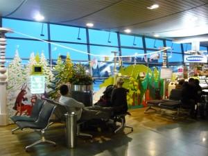 Фотография: аэропорт Рига игровая зона для детей