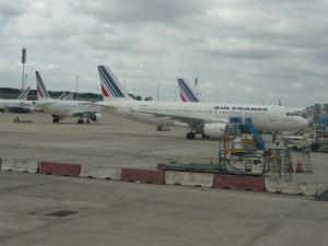 Фотография: Самолет авиакомпании Air France Airbus A320 www.air-agent.ru