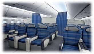Premium Club LOT Boeing 787 Dreamliner