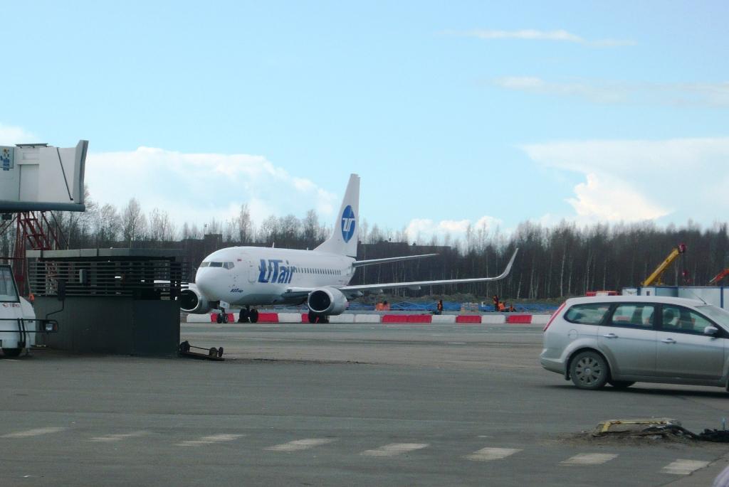 Фото: Самолет Boeing737 авиакомпании ЮТэйр www.air-agent.ru.