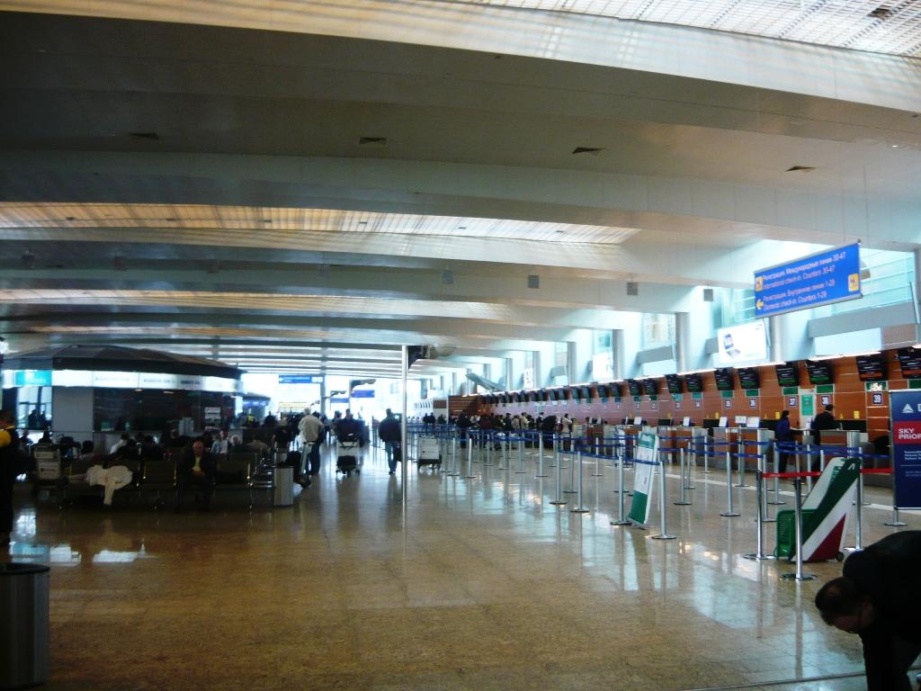 шереметьево терминал d фото