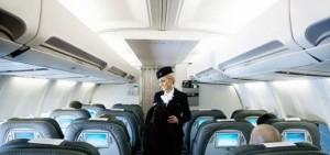 Фото кабина Saga class  авиакомпания Icelandair