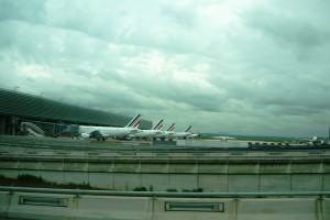 Фотография:Самолеты авиакомпании Air France Париж airagent www.air-agent.ru