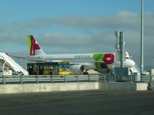 Фотография: Самолет авиакомпании Португальские авиалинии. www.air-agent.ru