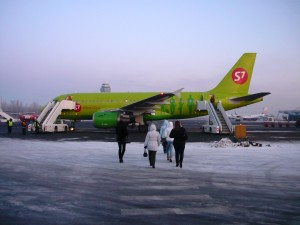 фото Самолет авиакомпания S7 airlines