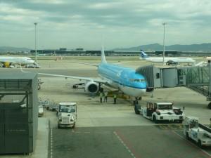 Самолет авиакомпании KLM