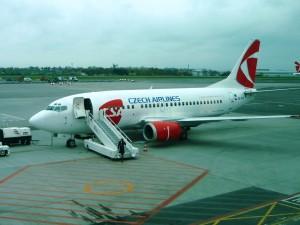 Фото Самолет авиакомпании Czech Airlines
