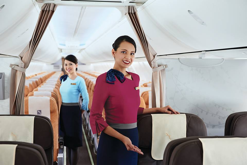 стюардессы silkair фото