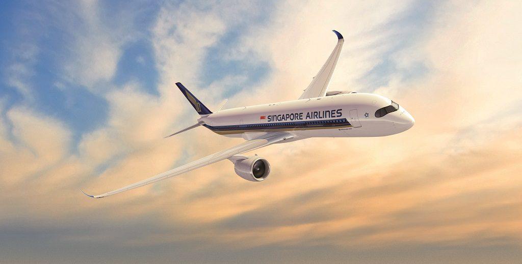 airbus A350 сингапурские авиалинии